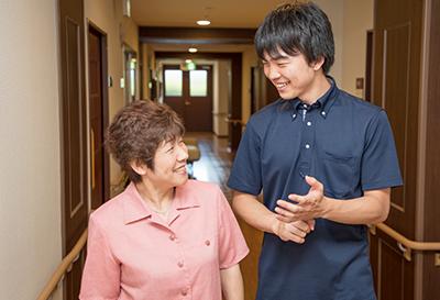 介護・看護スタッフが24時間365日サポート